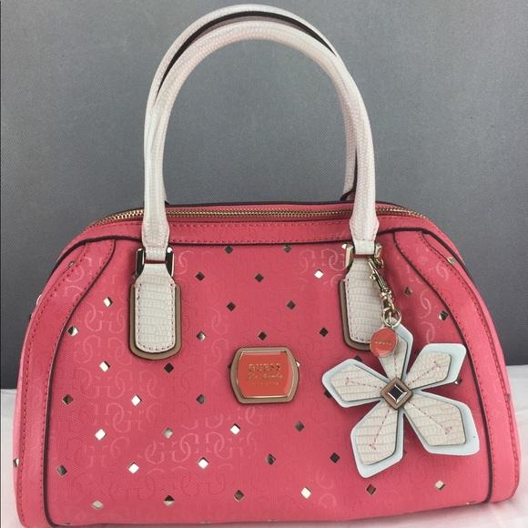 Brand New Guess Tangerine Satchel Bag 5130e6028e0c5